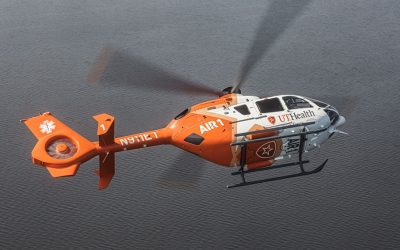 UT Health East Texas Air 1 reveals new helicopter design