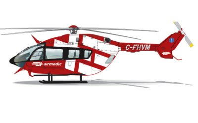 Airmedic signs purchase agreement for three EC145e aircraft