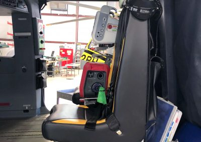 STAT MedEvac H135 T3H air medical interior completed by Metro Aviation