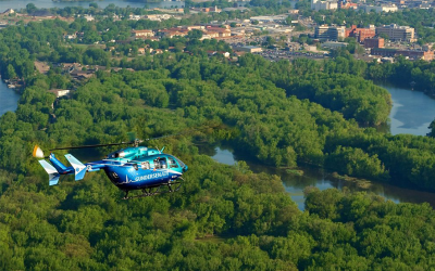 Metro takes delivery of first EC145e made in U.S.