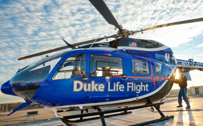 Metro Aviation welcomes Duke Life Flight to the Metro Family