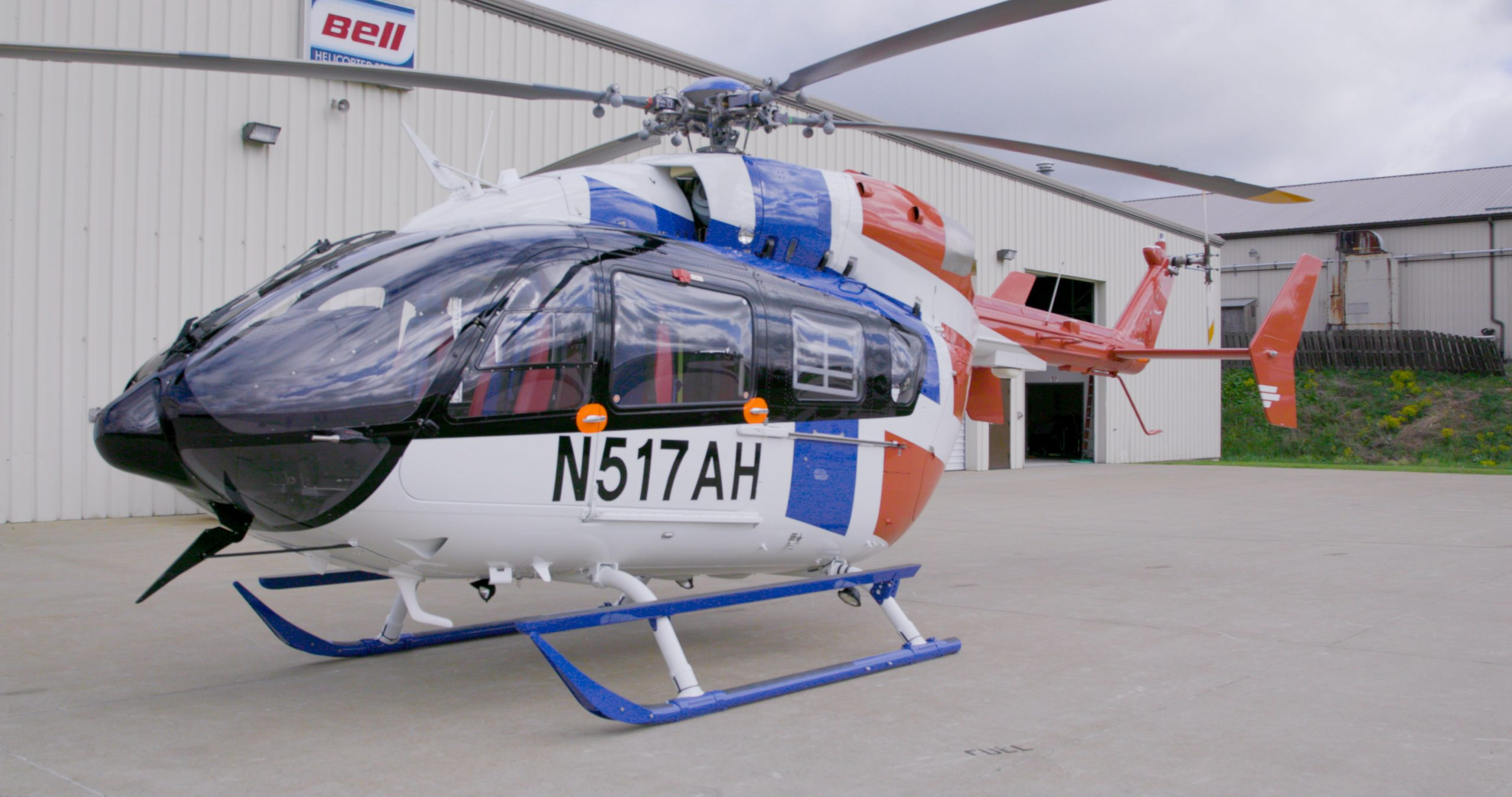 Metro completes an EMS EC145e for Airmedic
