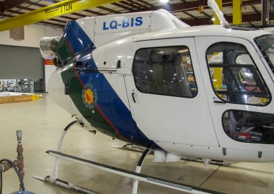 Before image of Buenos Aires AS350 B3 aircraft refurbished by Metro Aviation