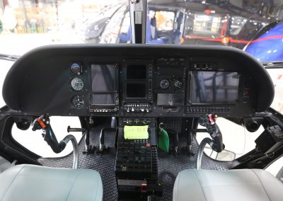 Instrument panel from refurbished Buenos Aires AS350 B3 aircraft completed by Metro Aviation