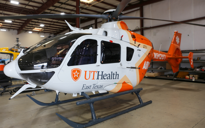UT Health East Texas welcomes final rebranded EC135
