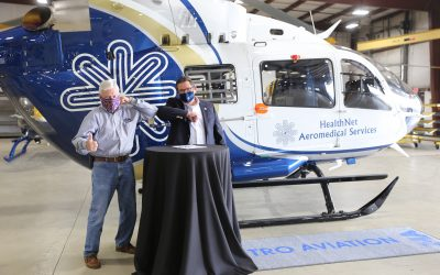 Metro Aviation delivers first of two EC145e aircraft to HealthNet